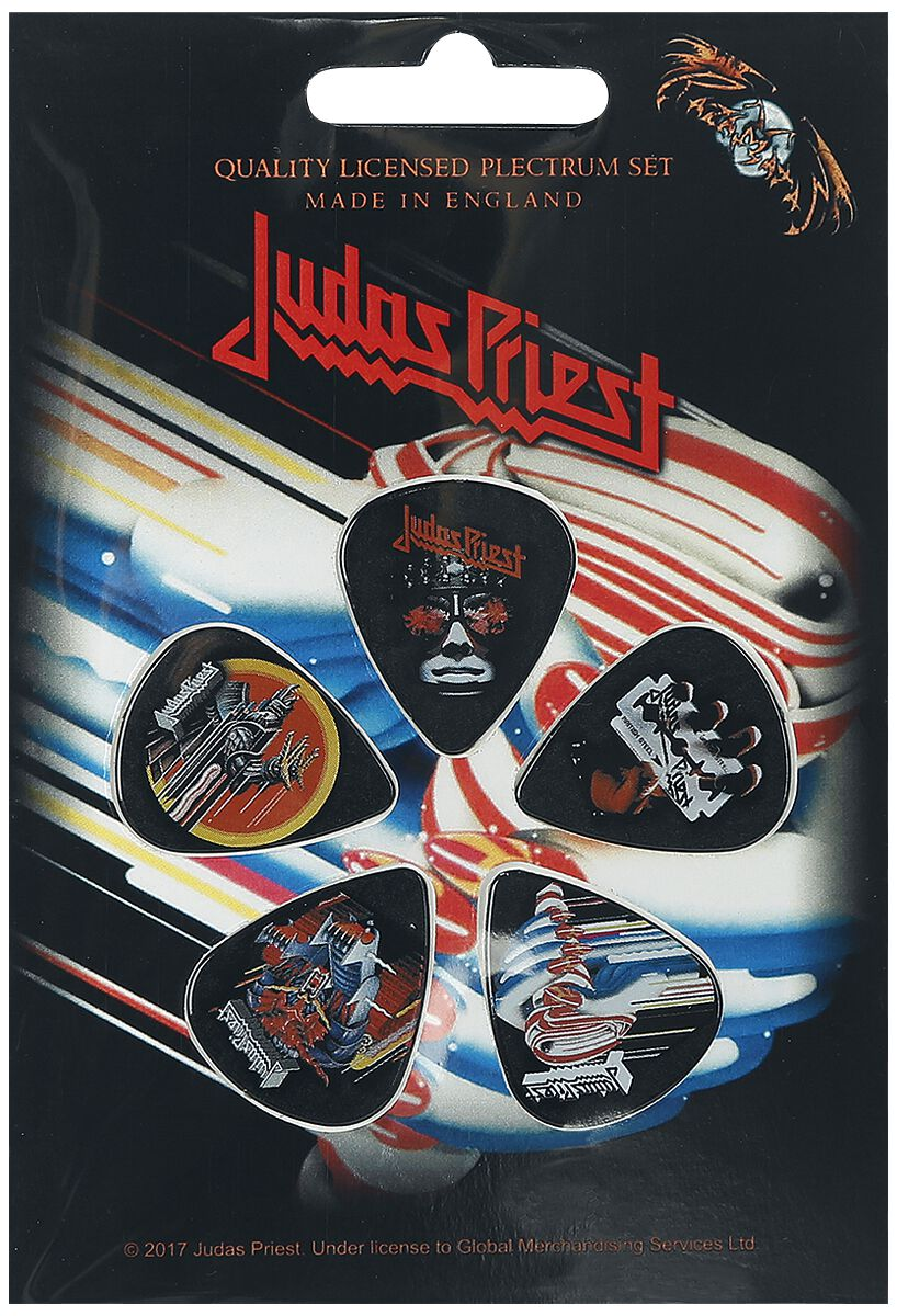 Image of   Judas Priest Mix Plekter multifarvet