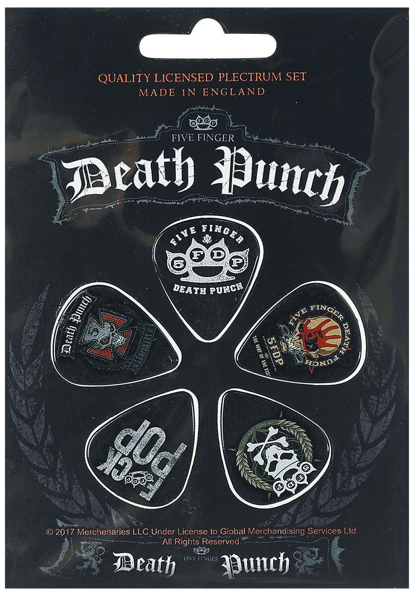 Image of   Five Finger Death Punch 5FDP Plekter multifarvet