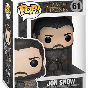 Figurine Pop! Game of Thrones - Jon Snow (Beyond the Wall)