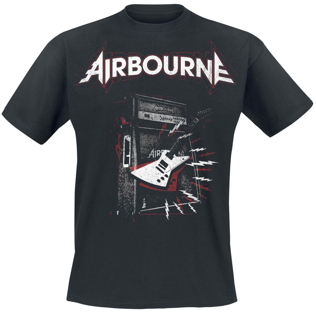 Zespoły - Koszulki - T-Shirt Airbourne Ballads T-Shirt czarny - 373115