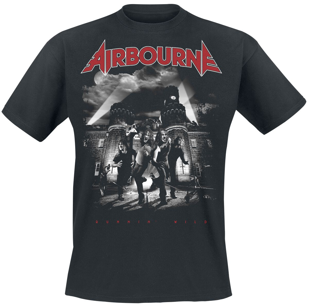 Zespoły - Koszulki - T-Shirt Airbourne Runnin' wild T-Shirt czarny - 373126