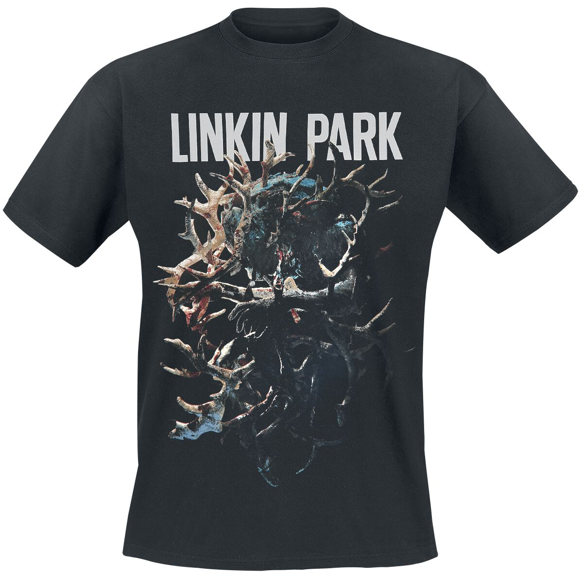 Image of   Linkin Park Stag Tour T-Shirt sort