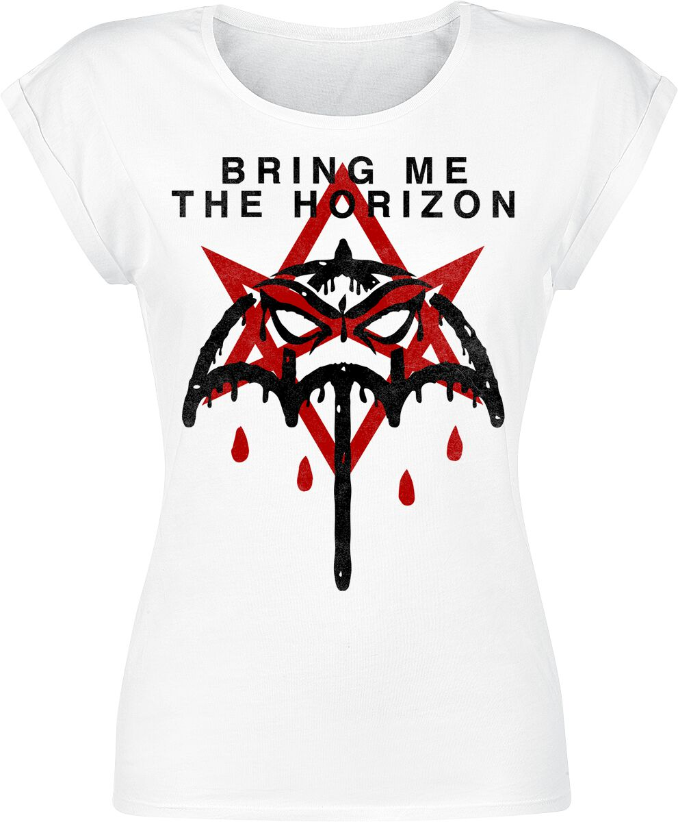 Image of   Bring Me The Horizon American Nightmare Girlie trøje hvid
