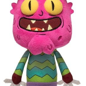 Rick & Morty Galactic Plushies: Scary Terry Figurine en Peluche Standard