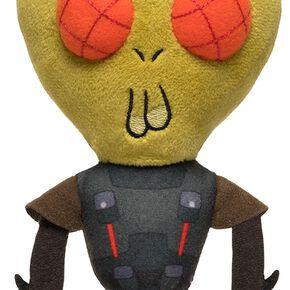 Rick & Morty Galactic Plushies: Michael Krombobpulous Figurine en Peluche Standard