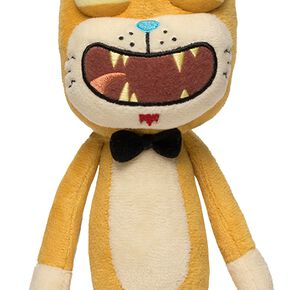 Rick & Morty Galactic Plushies: Squanchy Figurine en Peluche Standard