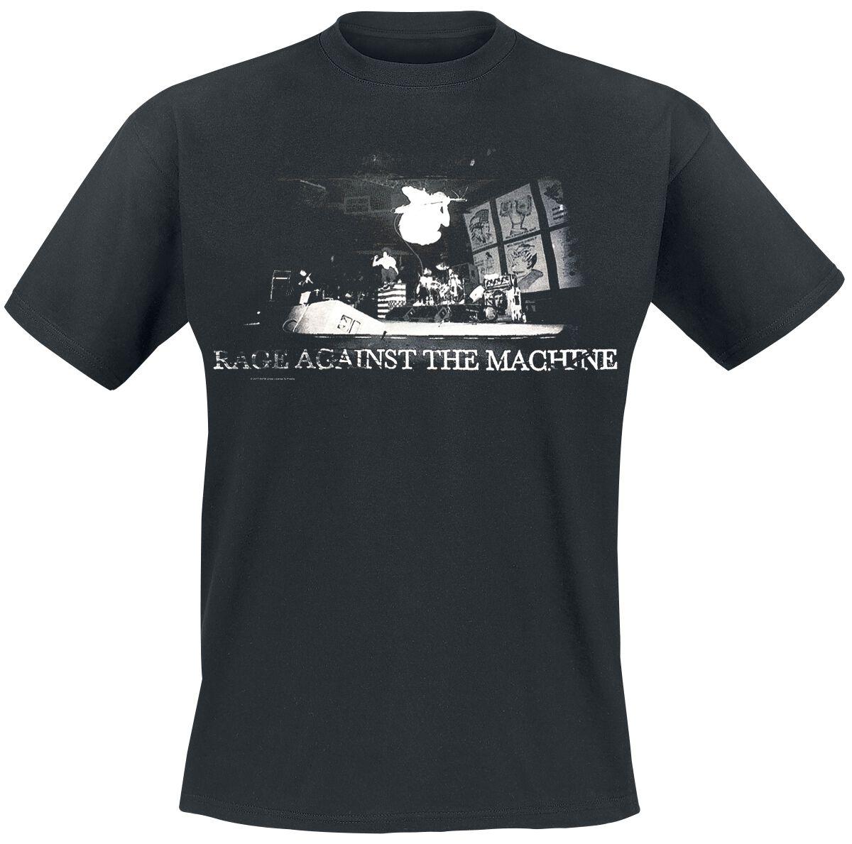 Zespoły - Koszulki - T-Shirt Rage Against The Machine Live Jump T-Shirt czarny - 373207