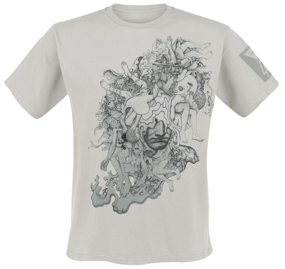 Image of   Linkin Park Coral Faces T-Shirt grå