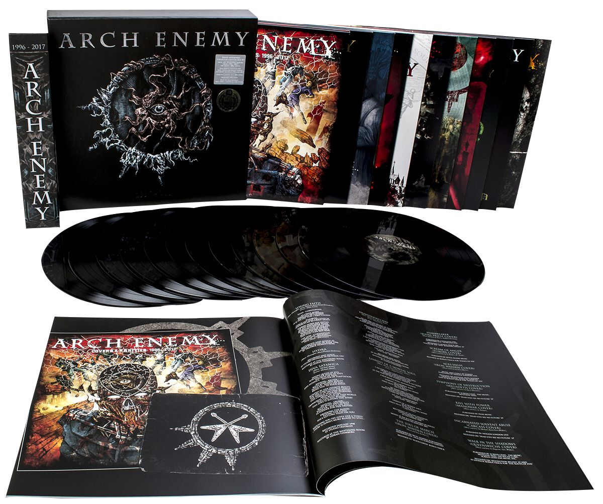Image of   Arch Enemy 1996-2017 12-LP standard