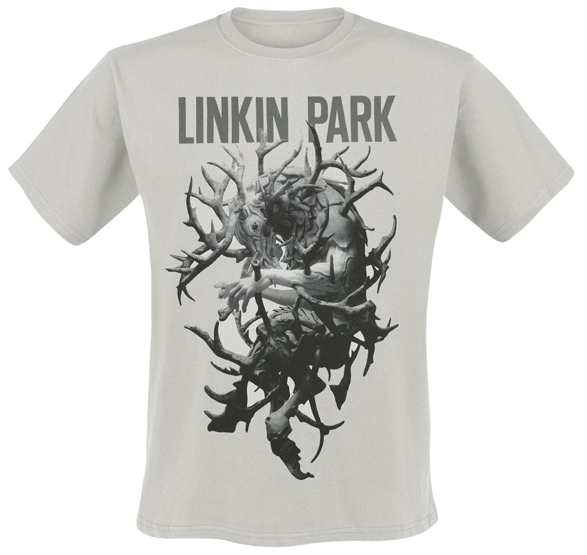 Image of   Linkin Park Antlers Tour T-Shirt hvid