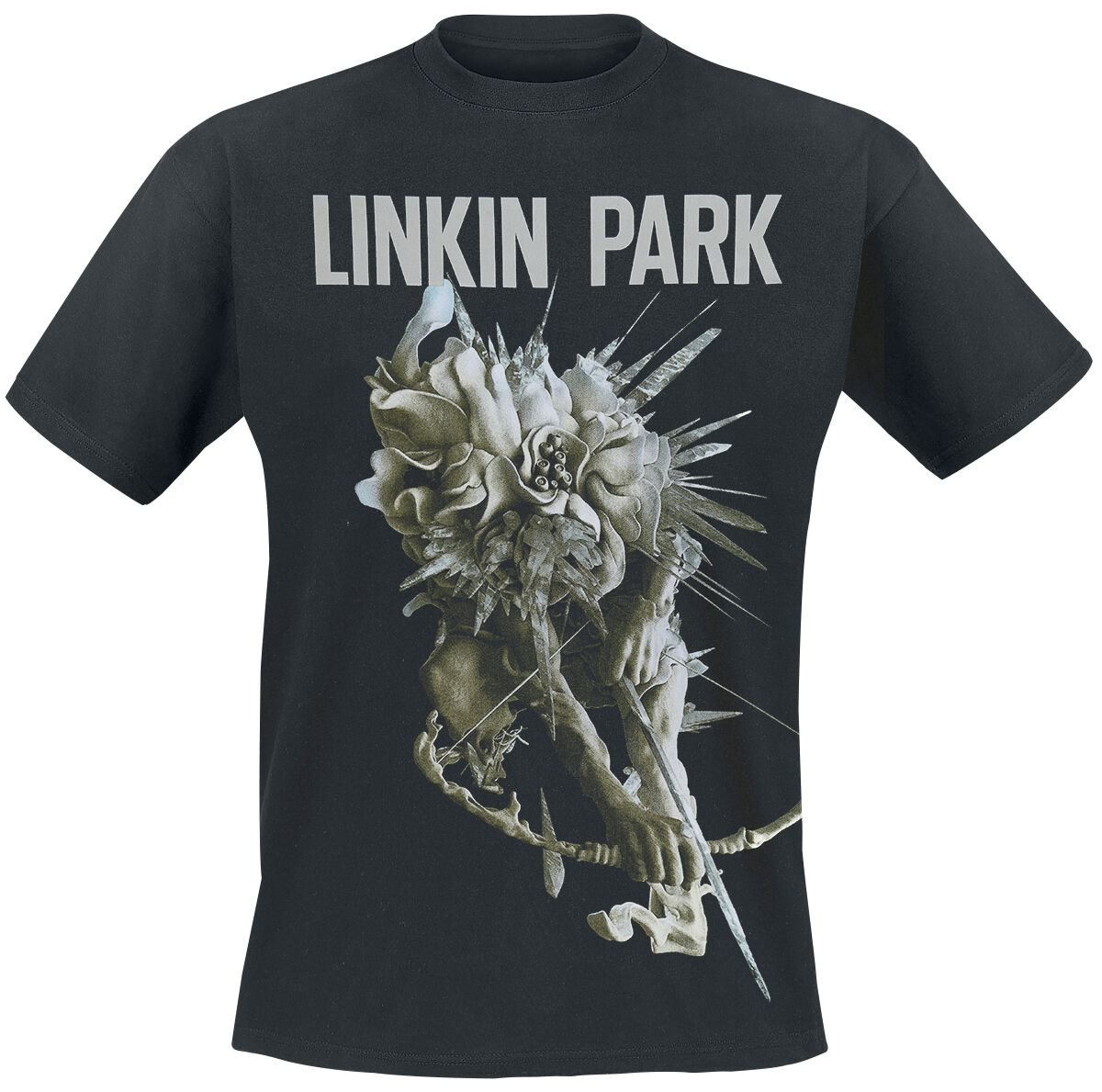 Image of   Linkin Park Carnivores Tour T-Shirt sort