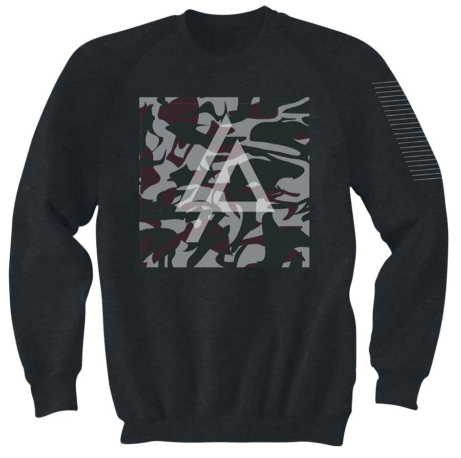 Image of   Linkin Park Shinoda Camo Sweatshirt sortmeleret