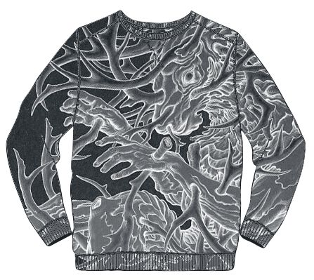 Image of   Linkin Park Sublimated Stag Sweatshirt sort