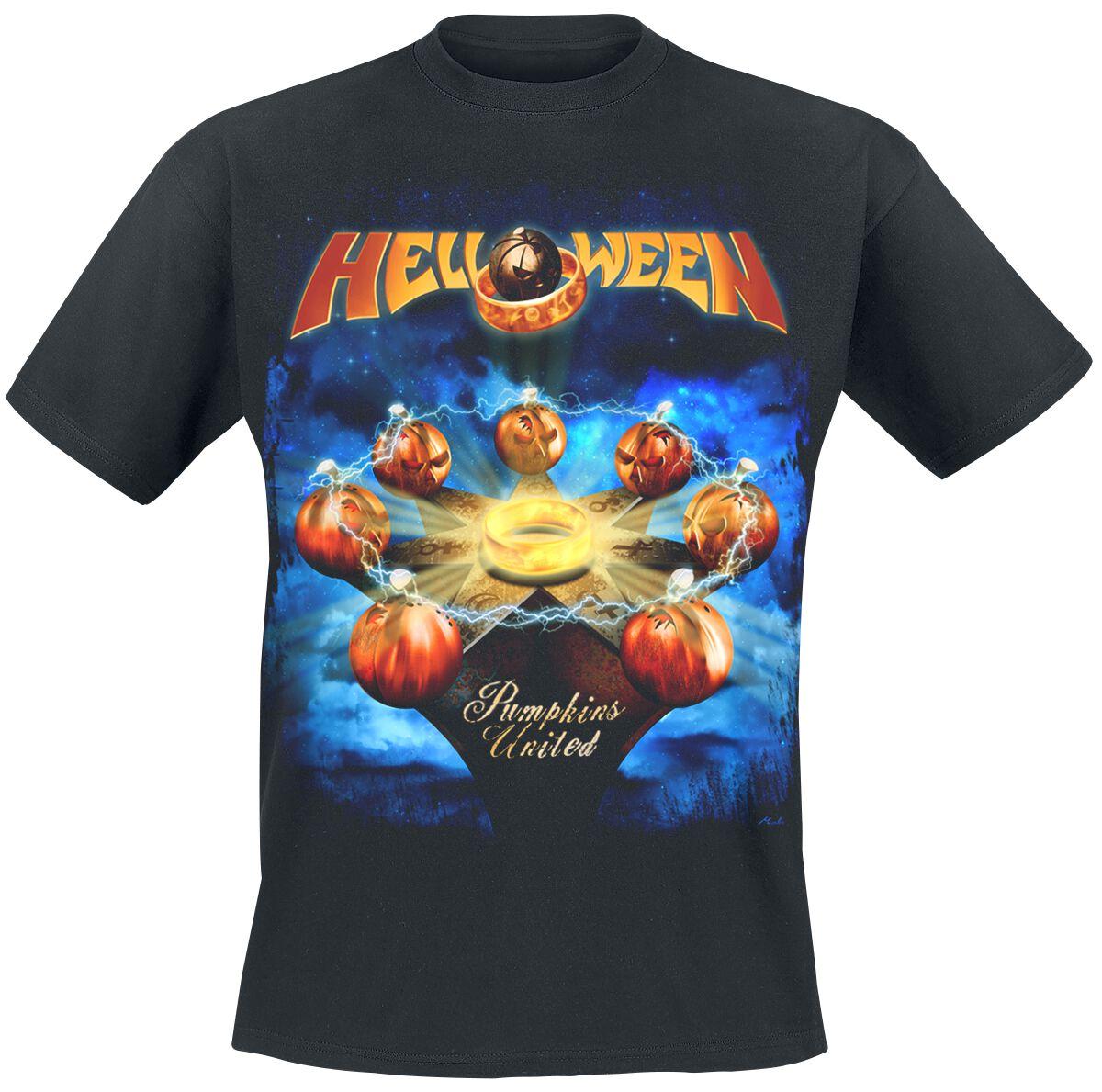 Zespoły - Koszulki - T-Shirt Helloween Tour United T-Shirt czarny - 373315