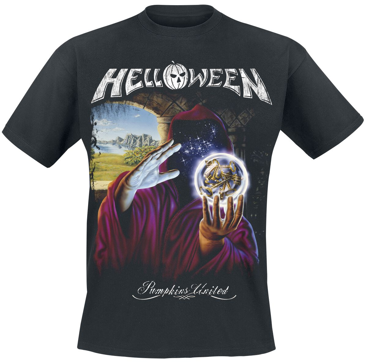 Image of   Helloween Angel Girlie trøje sort