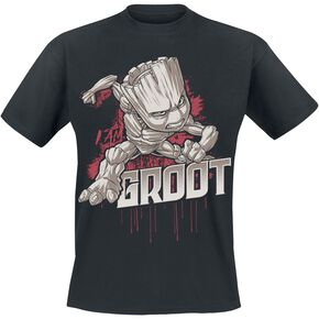 Les Gardiens De La Galaxie 2 - Groot - Angry T-shirt noir