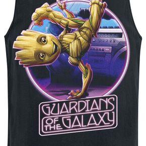 Les Gardiens De La Galaxie 2 - Groot Dancing Débardeur noir