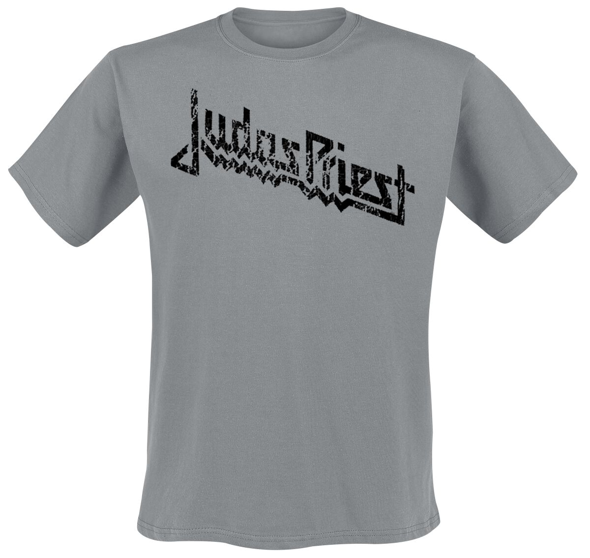 Image of   Judas Priest Vintage Logo T-Shirt grå