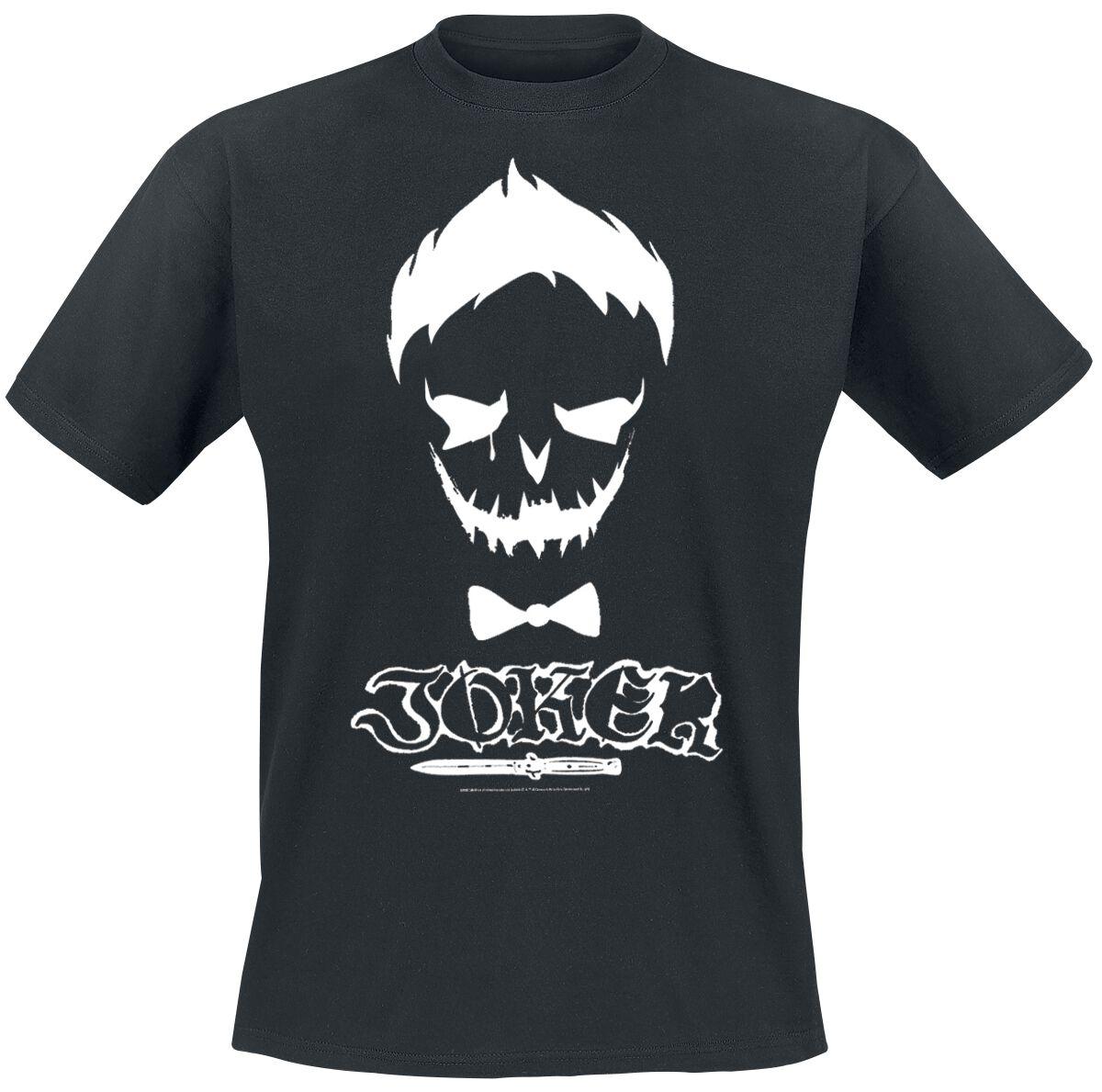 Image of   Suicide Squad Joker Skull T-Shirt sort
