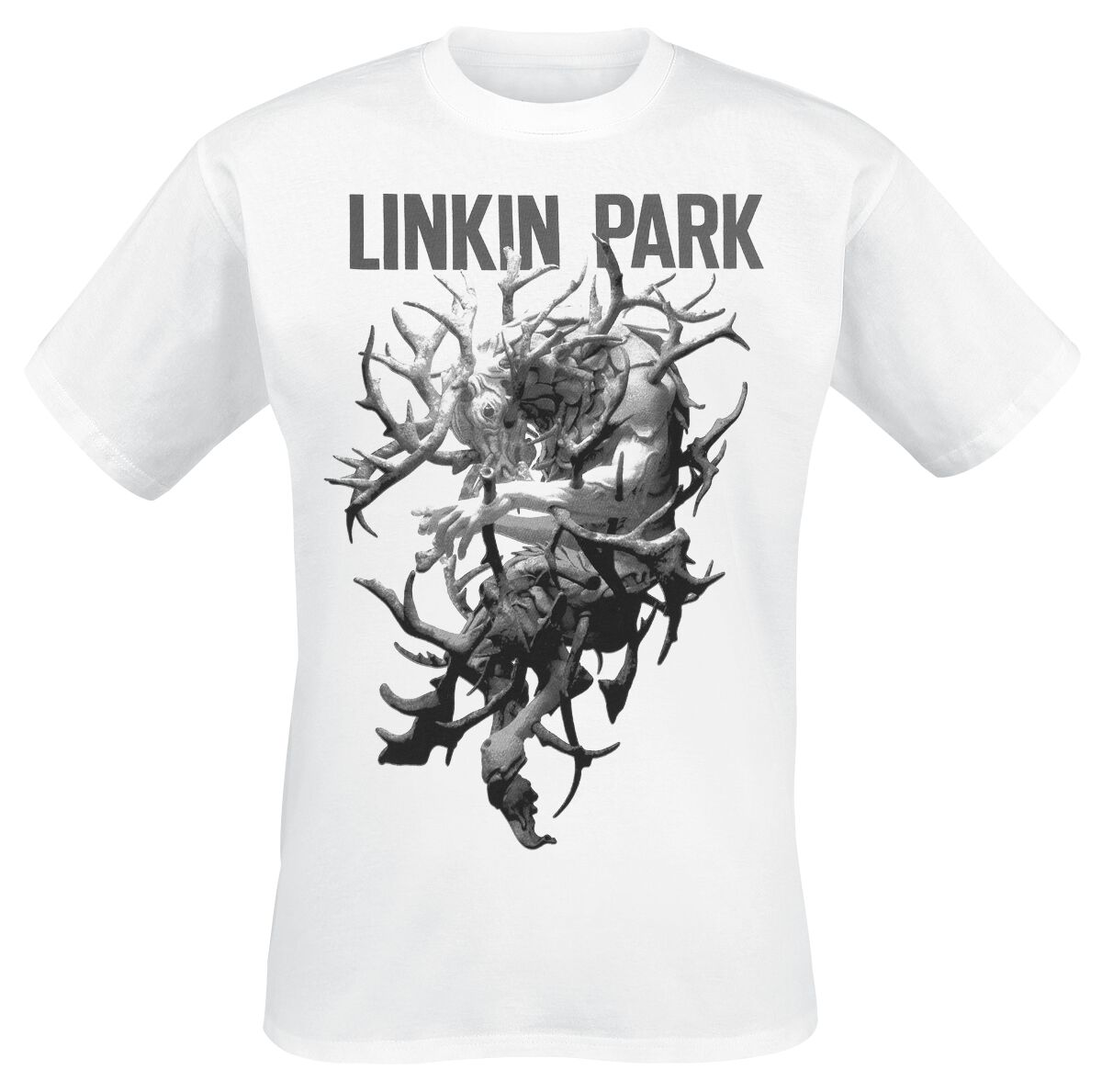 Image of   Linkin Park Stag T-Shirt hvid