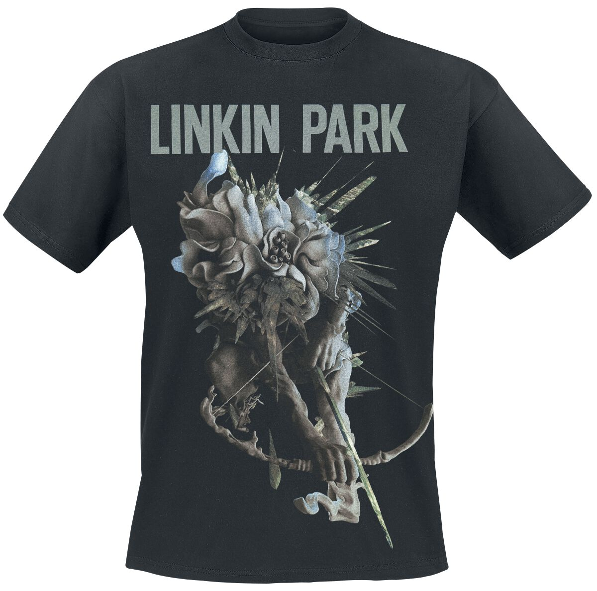 Image of   Linkin Park LIP Archer Tour Dated T-Shirt sort