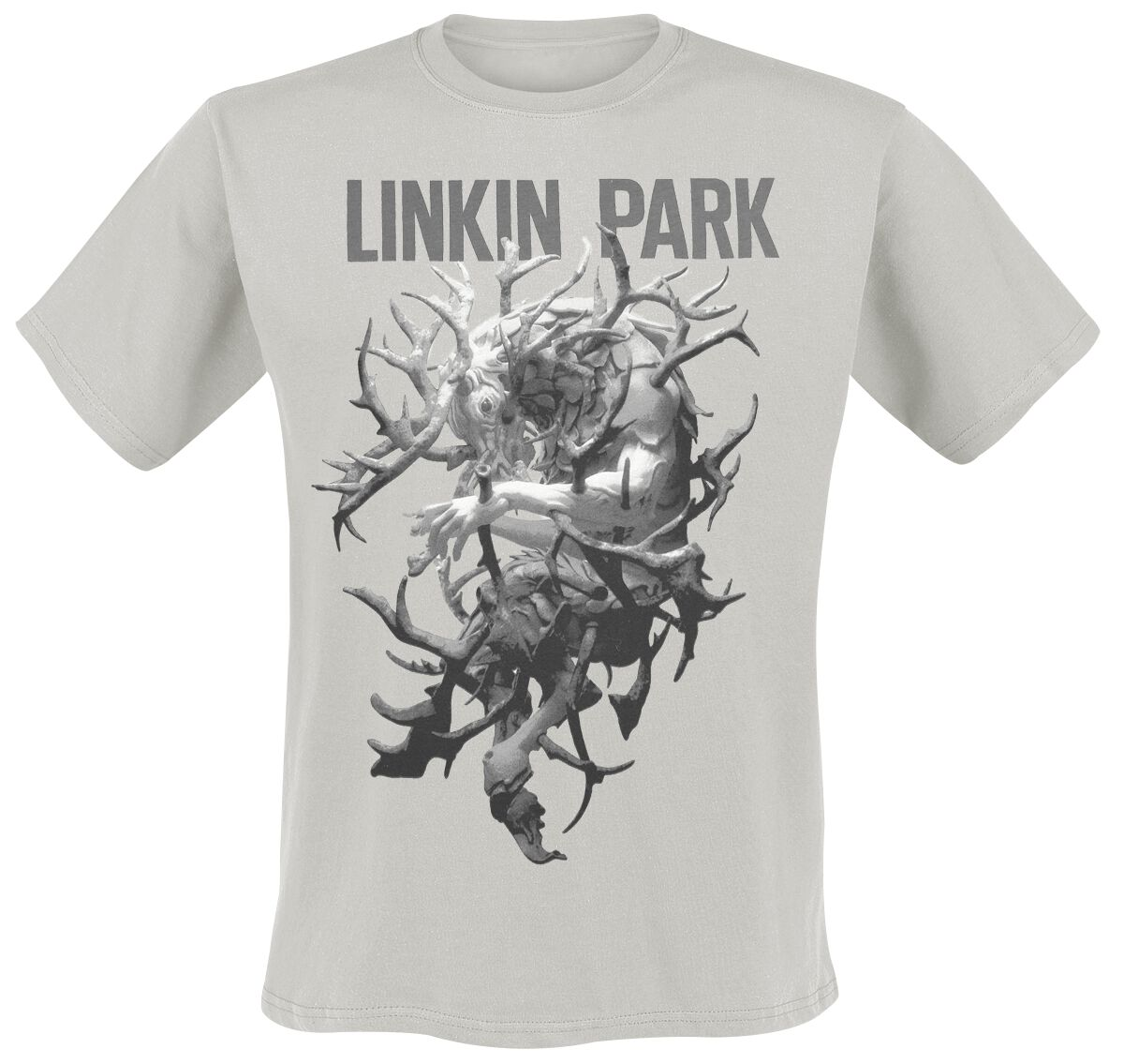 Image of   Linkin Park LIP Stag Tour Dated T-Shirt grå