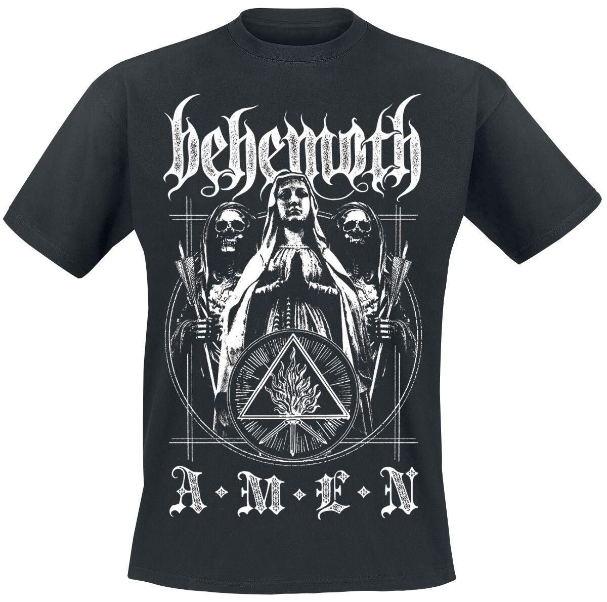 Zespoły - Koszulki - T-Shirt Behemoth Amen T-Shirt czarny - 373565