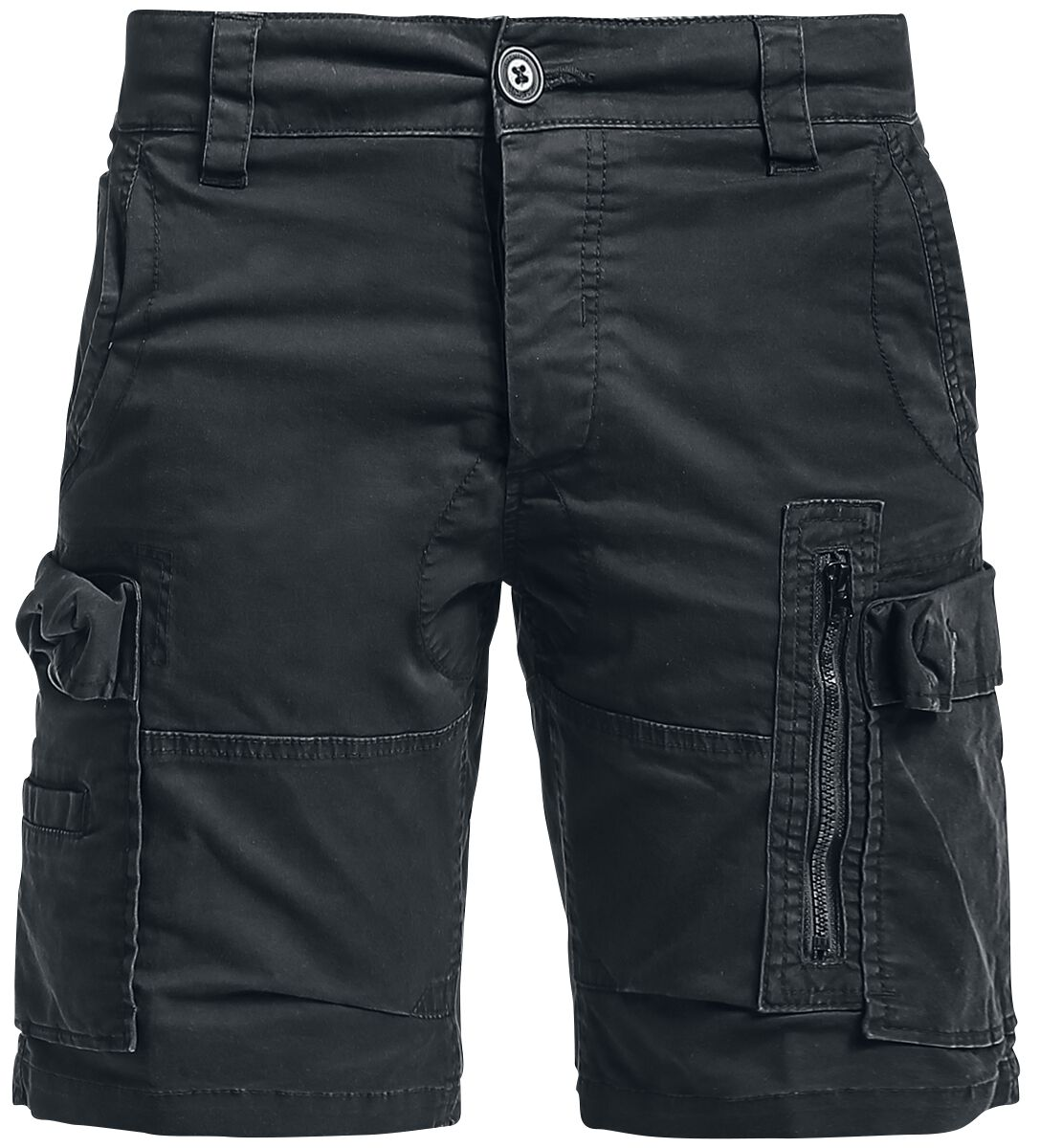 Image of   Brandit Kite Short Slim Fit Shorts sort