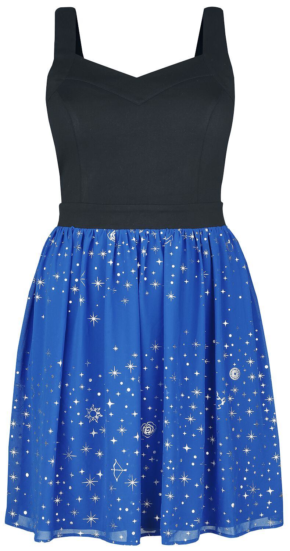Image of   Disney Princess Sparkles Kjole blå-sort