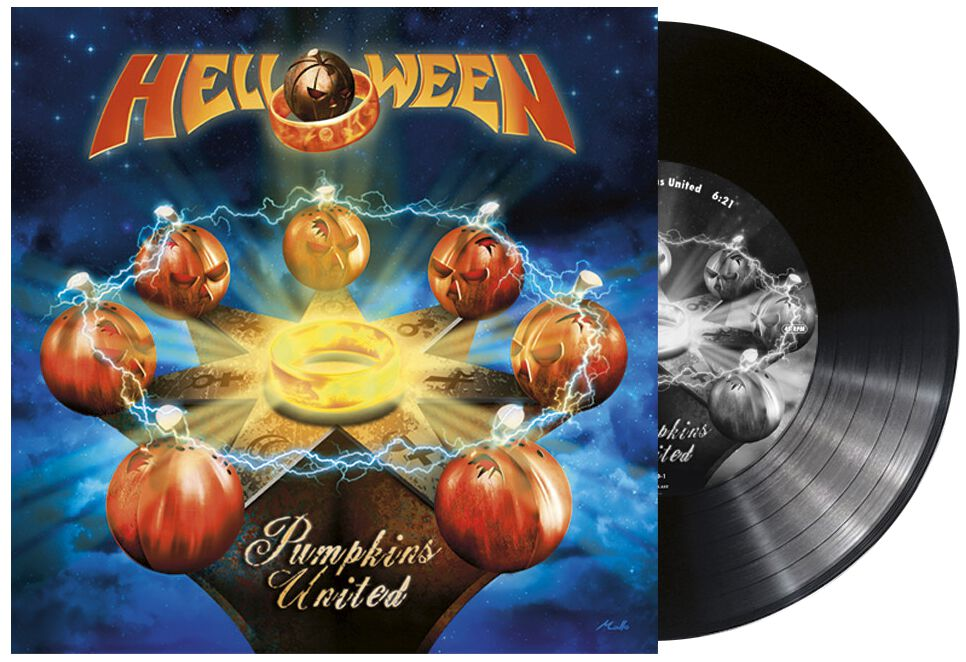 Image of Helloween Pumpkins United 10 inch-MAXI Standard