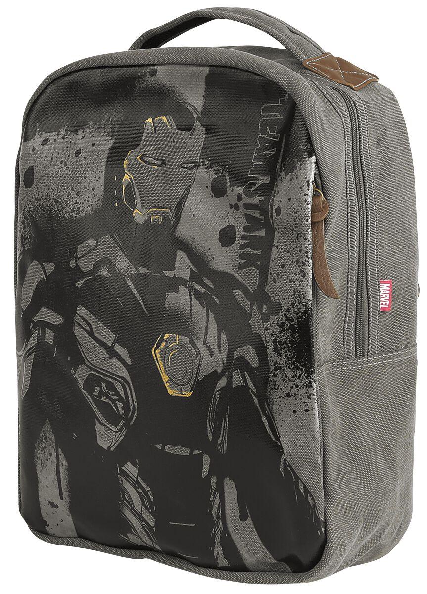 Merch dla Fanów - Torby i Plecaki - Plecak Iron Man Plecak brązowy - 373741