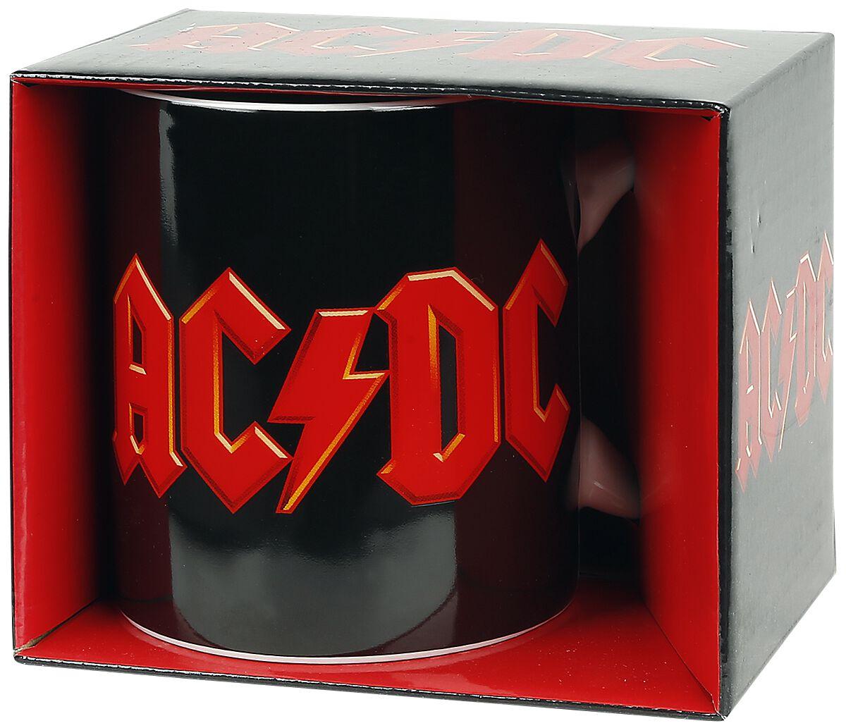 Image of   AC/DC Logo Krus hvid