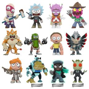 Rick & Morty Séries 2 - Mystery Mini Blind Figurine de collection Standard