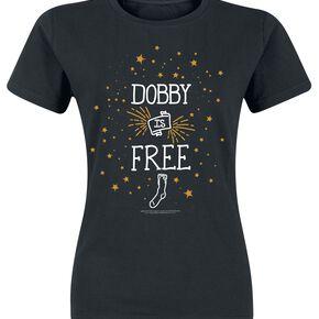 Harry Potter Dobby Is Free T-shirt Femme noir