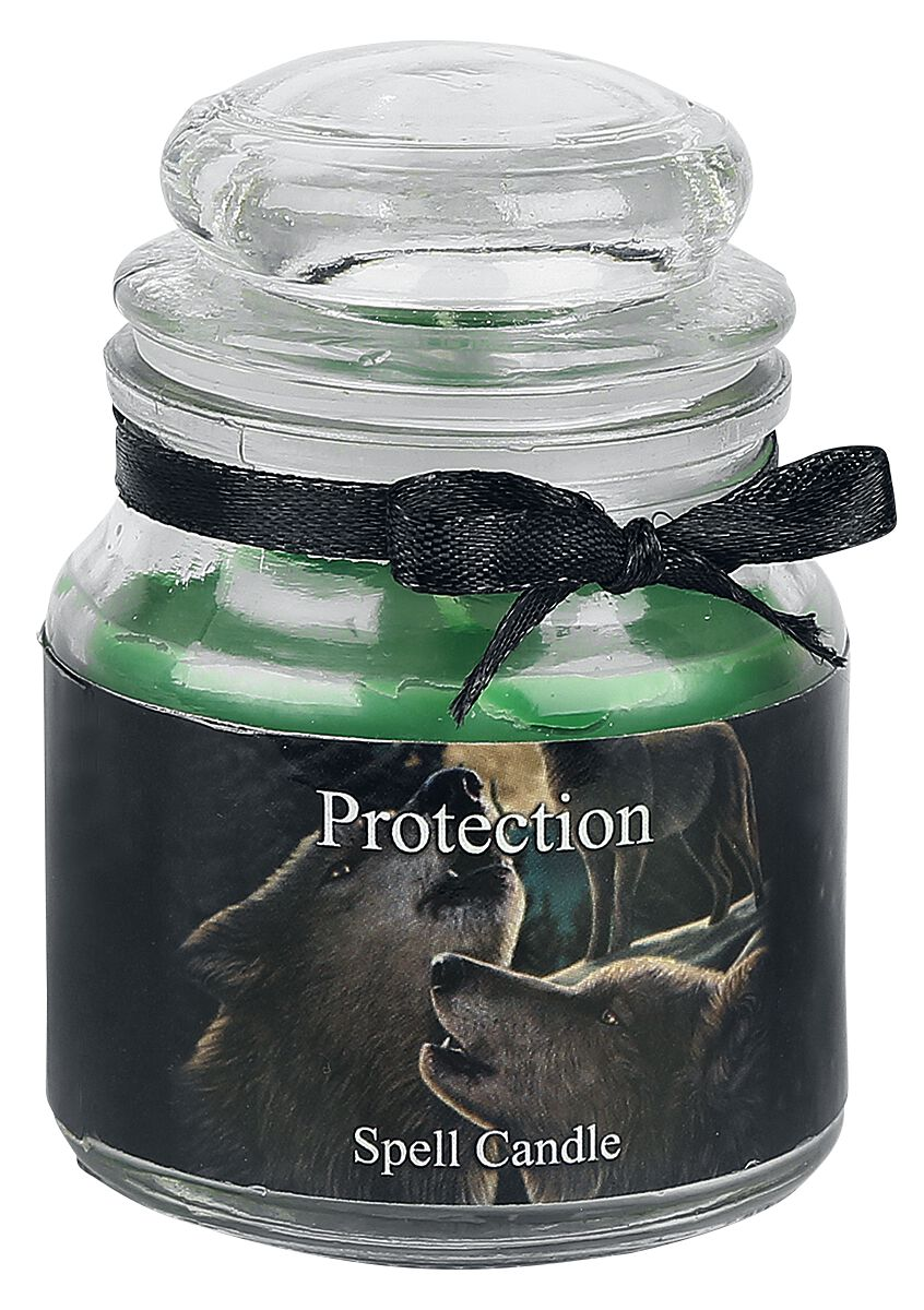 Nemesis Now Protection Spell Candle - Lavendel ...