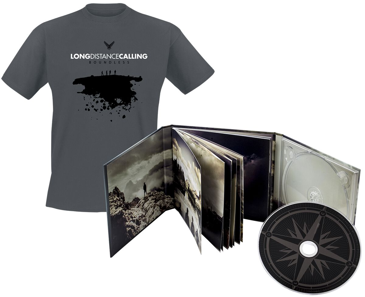 Image of   Long Distance Calling Boundless 2-LP & CD & T-shirt standard