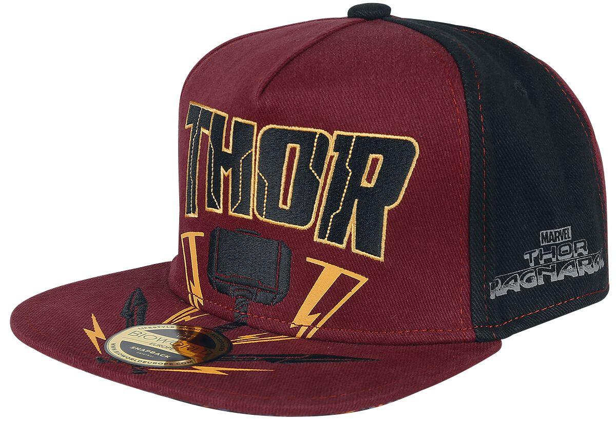 Image of   Thor Tag der Entscheidung - Thor Hammer Snapback Cap multifarvet