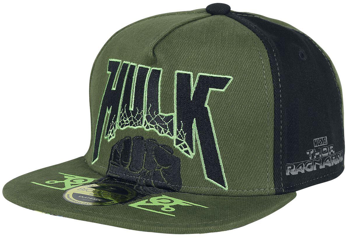 Image of   Thor Tag der Entscheidung - Hulk Fist Snapback Cap multifarvet