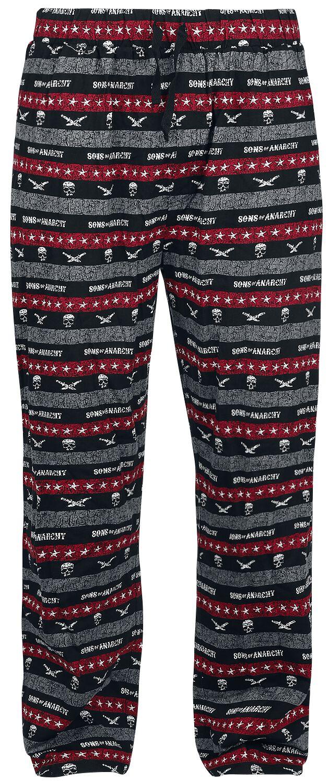 Merch dla Fanów - Do sypialni - Spodnie od pidżamy Sons Of Anarchy Men Of Mayhem Spodnie od pidżamy wielokolorowy - 373906