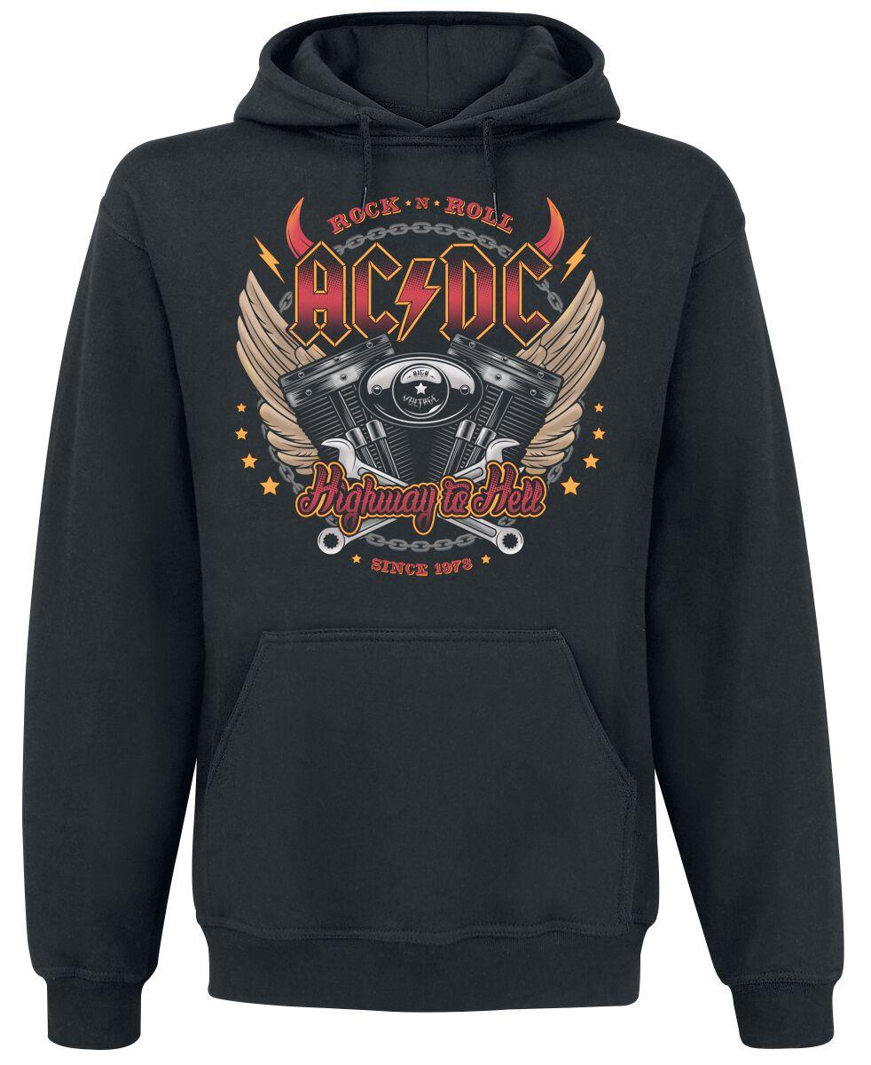 Image of   AC/DC Highway To Hell Hættetrøje sort