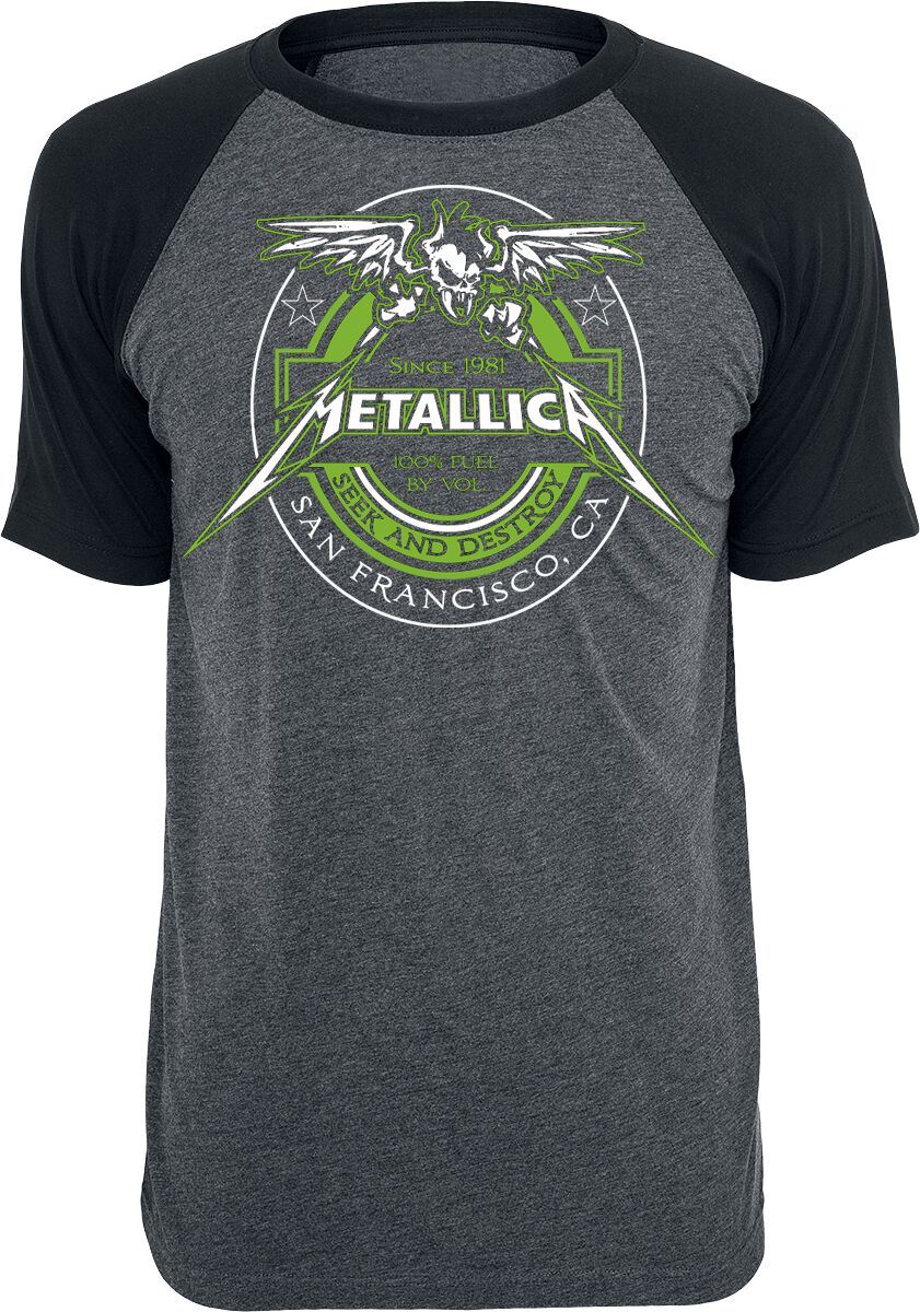 Image of   Metallica Fuel T-Shirt koks-sort