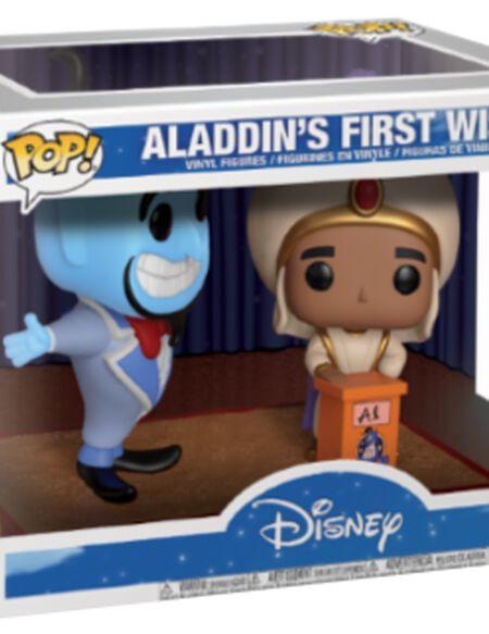 Figurine Pop! Movie Moment : Aladin et Génie