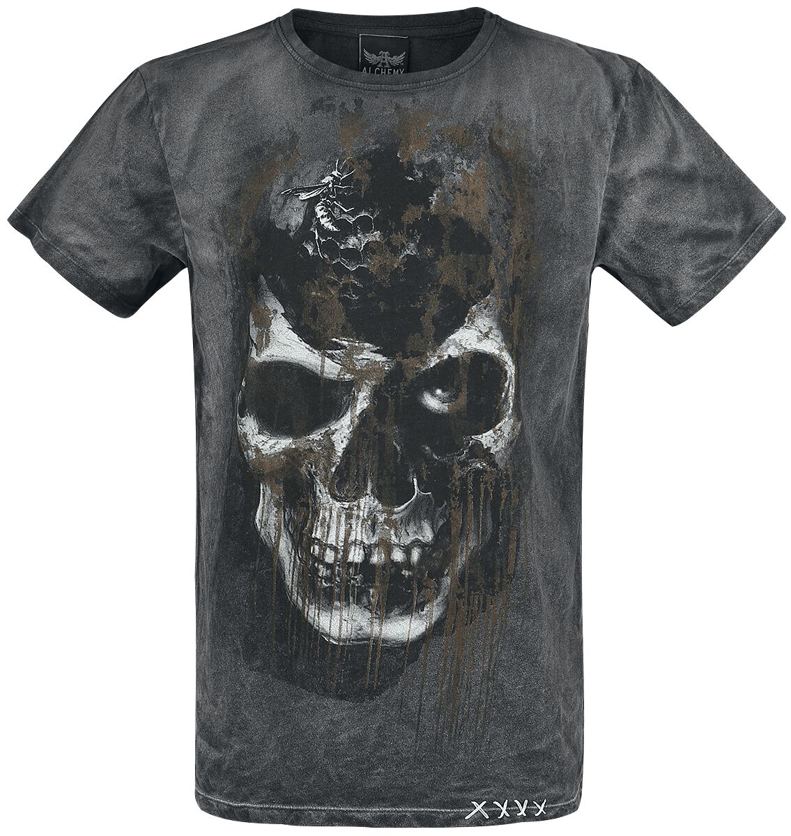 Image of   Alchemy England Pole Axed T-Shirt grå