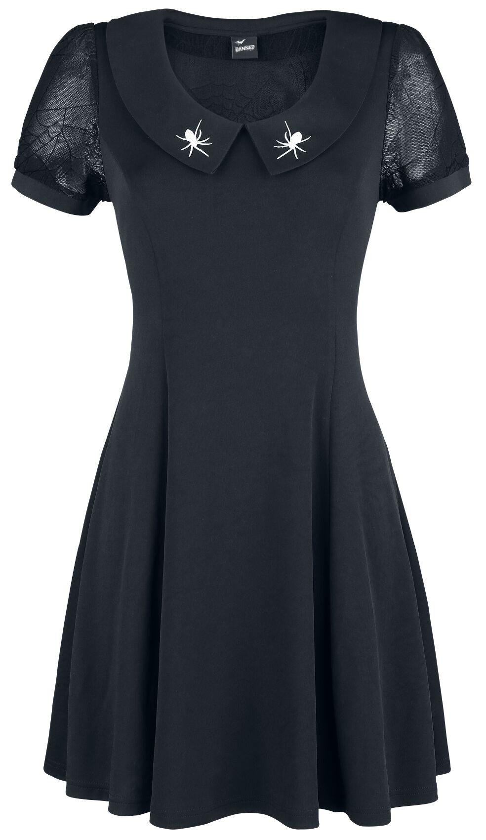 Image of   Banned Laced Dress Kjole sort