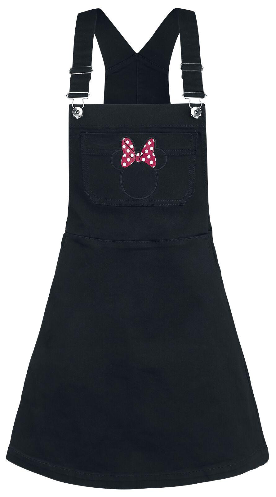 Myszka Miki i Minnie Head Pocket Sukienka czarny