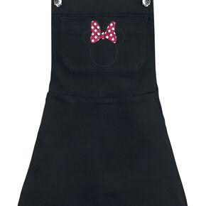 Mickey & Minnie Mouse Head Pocket Robe noir