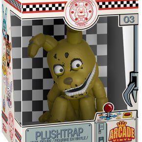 Figurine Plushtrap - Five Nights at Freddy's - Arcade Vinyl