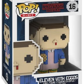 Figurine Pop! Eleven EXC 8-Bit Stranger Things