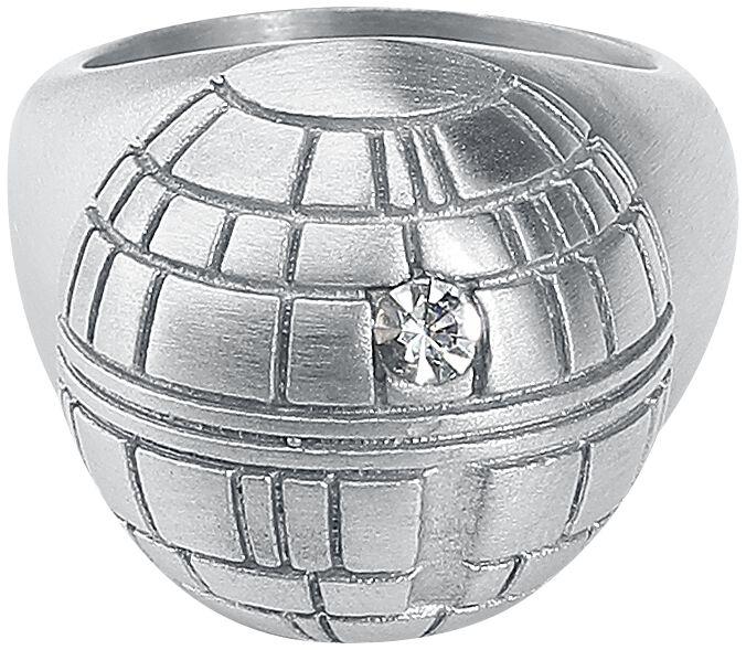 Image of   Star Wars Dødsstjerne Ring sølvfarvet
