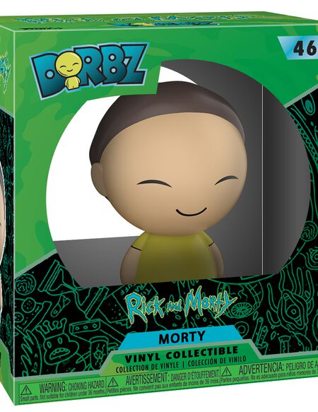 Figurine Dorbz Morty - Rick et Morty